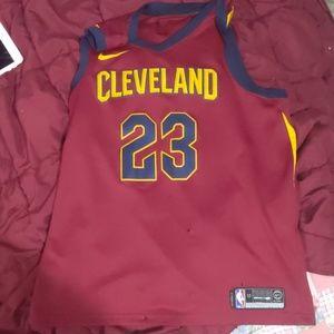 LeBron James #23 Cleveland Cavaliers Nike Swingman